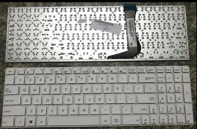 Brand New US keyboard for Asus X502 X502C X502CA white palmrest 90NB00I2-R31US