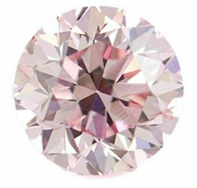 Natural Rare Extra Fine Pink Diamond - Round - Unheated, Untreated