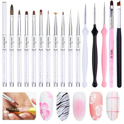 BORN PRETTY UV Gel Nail Brush Painting Drawing Pen Liner Brushes  Tools