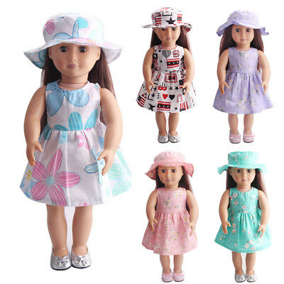 Cute Beach dresses Clothes for 18 inch Our Generation American Girl Doll Popular