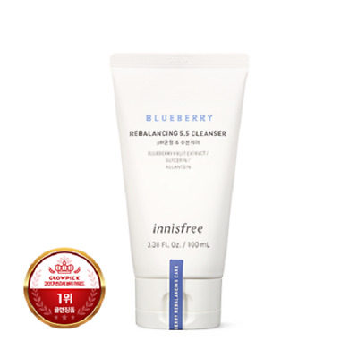 Innisfree Blueberry Rebalancing 5.5 Cleanser 100ml Korea Beauty Free shipping