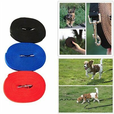Dog Training Lead 30ft 50Ft Foot Feet Long Obedience Control Running Adjustable