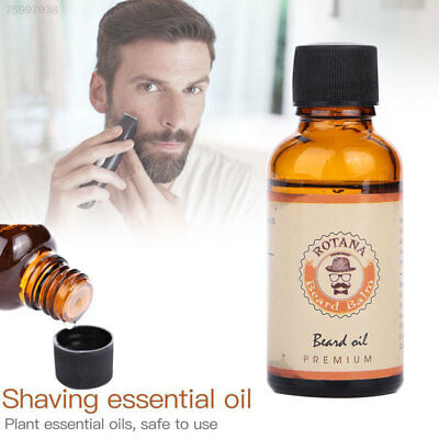 D378 Men's Plant Shave Beard Mustache Oil Cleansing Purifying Essential Oils Fac