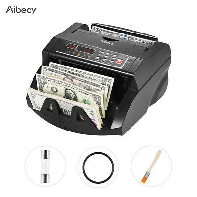 Aibecy LCD Currency Cash Bill Counter Automatic IR/DD AUD Counting Machine I8T5