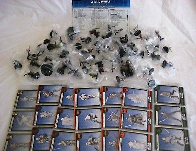Star Wars Miniatures CHAMPIONS OF THE FORCE (WOTC) Full Set of 60 - New & Sealed