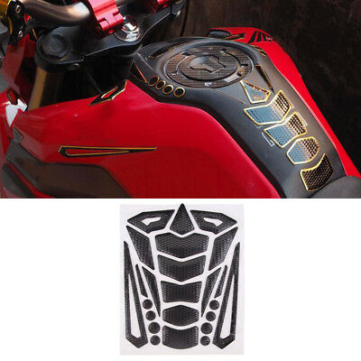 1 Set Motorcycle Gas Fuel Tank Pad Protector Cover Sticker Decals