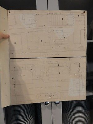 Plan of Goole Yorkshire, March 1896 (-1911), Goad,  GREAT GIFT POTENTIAL  zz