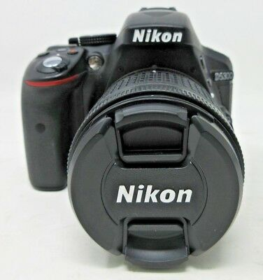 New Nikon D5300 Kit AF-P DX NIKKOR 18-55mm f/3.5-5.6G VR Lens w/ SD card + Case