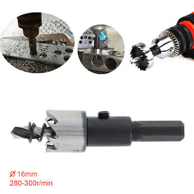 16mm Hole Saw Tooth Kit HSS Steel Drill Bit Set Cutter Tool for Metal Wood Alloy