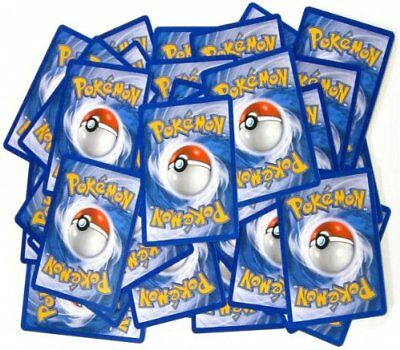 Pokemon Card Bundle - 50 Monster Cards Common, Uncommon from Mixed Sets. NEW.