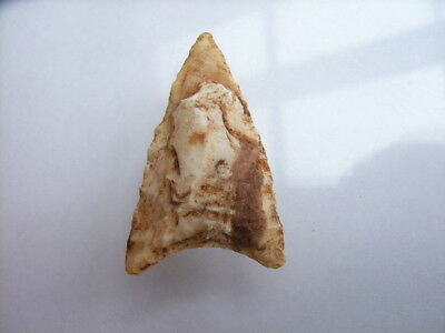 1 Ancient Neolithic Flint Arrowhead, Stone Age, VERY RARE !!  TOP !!