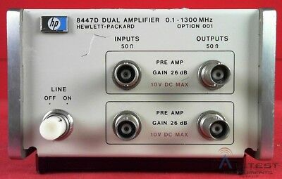 HP - Agilent - Keysight 8447A-001 PreAmplifier
