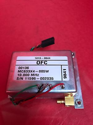 Hp Agilent 1813-0644 10 Mhz Mc833X4-005W Oscillator For Hp 4395A