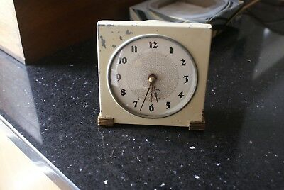 Vintage Art Deco Clock Scottish Electric Clock by Westclox Model BE2