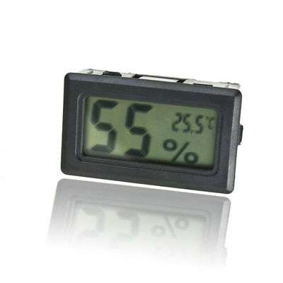 Mini Digital LCD Temperatur-Feuchtemessgerät Thermometer Hygrometer Indoor