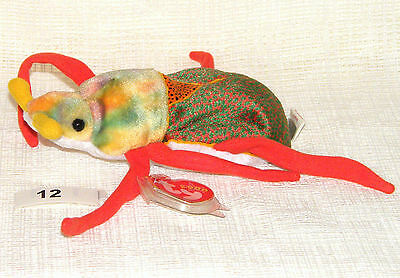 TY Beanie Babies SCURRY Beetle 2000 - Free UK Postage