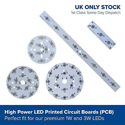1w 3w Aluminium LED PCB circuit board for SMD diodes beads component in series