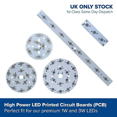1w 3w power LED printed circuit boards PCB for SMD diode bead components series