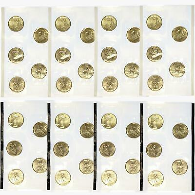 2003 P D State Quarter Cello BU Roll US Mint 40 Coin Set