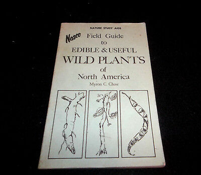 Nasco field guide edible useful wild plants North America study aids Chase