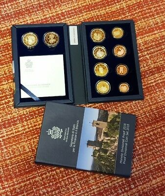 Proof Divisional Coin Set San Marino 2018(2€ Proof Tintoretto+2€ Proof Bernini)