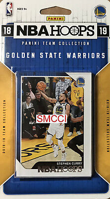 Golden State Warriors 2018 2019 Hoops Factory Team Set Stephen Curry Durant plus