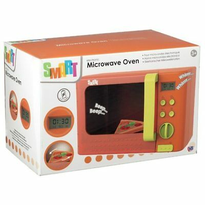 Smart Electronic Microwave Oven With Sound Effects Play Toy Xmas Gift