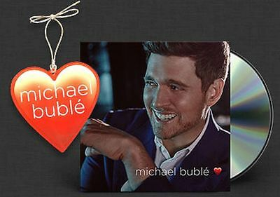 LOVE by Michael Buble Nov-2018, NEW CD, CONFIRMED 1ST CLASS SHIP