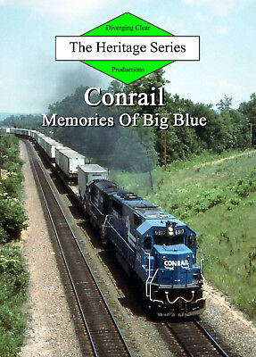 Train DVD: Conrail in the 1980s and early 1990s - Memories Of Big Blue