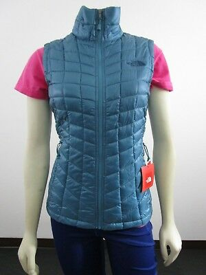 cf2aa6507 NWT WOMENS TNF The North Face Thermoball FZ Puffer Insulated Warm ...