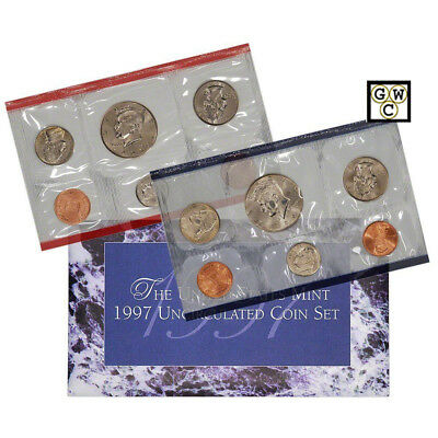 1997 P & D United States Mint Uncirculated Coins Set (OOAK)