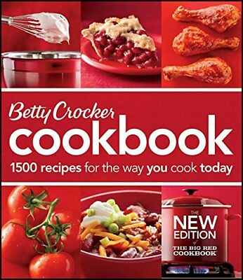 Betty Crocker Cookbook: 1500 Recipes for the Way You Cook Today by Betty Crocker