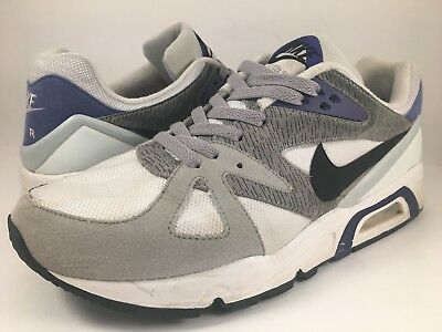 new product bd773 b9470 Nike Air Structure Triax 91 White Purple Black 318088-101 Size 12