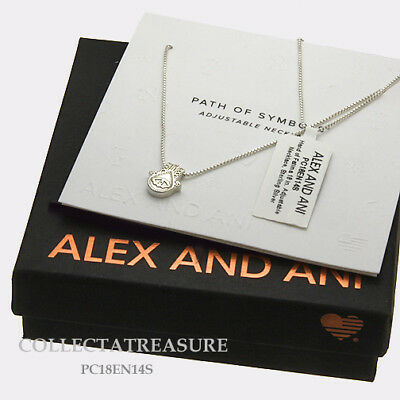 903099bc036b6 AUTHENTIC ALEX AND Ani Hand of Fatima Sterling Silver Adjustable 18