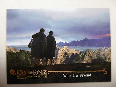 TOPPS Card : LOTR The Fellowship Of The Ring  #153 WHAT LIES BEYOND