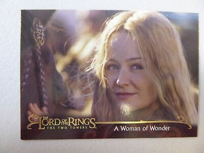 TOPPS Lord of the Rings: The Two Towers - Trading Card #160 A WOMAN OF WONDER