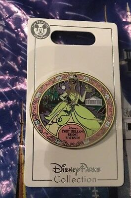 Disney Tiana Port Orleans Resort Riverside Pin New OE Pin Princess And The Frog
