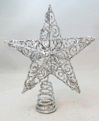Wire Christmas Star Metal Wreath Frame Form 20 Inches