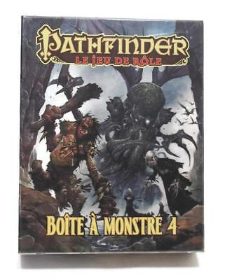 French Pathfinder Boite Monstres 4 Monsters Role Playing Game Black Book Edition