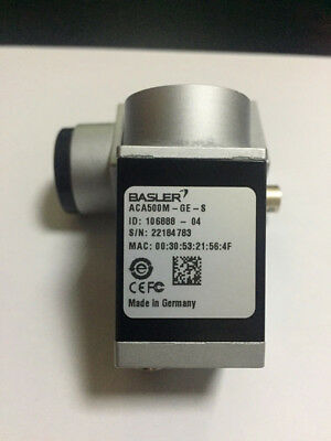 1PCS BASLER ACA500M-GE-S Industrial Camera  tested