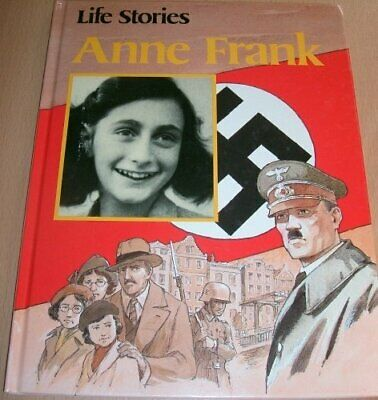 Anne Frank (Life Stories) by Jackman, Wayne Hardback Book The Cheap Fast Free