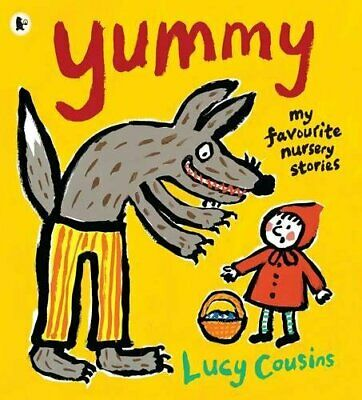 Yummy: My Favourite Nursery Stories by Cousins, Lucy Paperback Book The Cheap