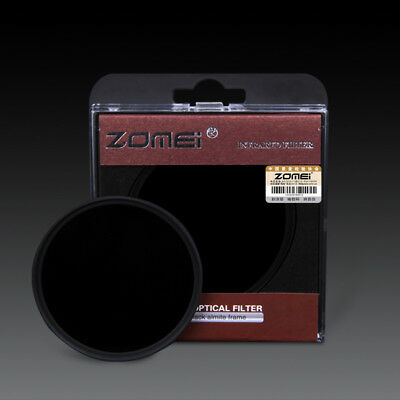 Zomei 49/52/55/58/62/67/72/77/82mm 720-950NM Infrared X-RAY IR Filter for Camera