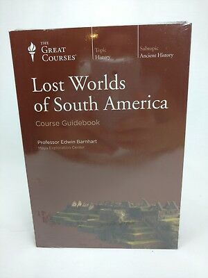 Lost Worlds of South America - The Great Courses DVD & Book - New Factory Sealed