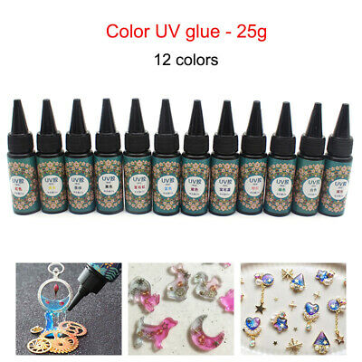 UV Resin 25g Ultraviolet Curing Epoxy Resin for DIY Jewelry Making Craft Decorat