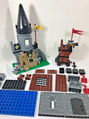 Lego Duplo Fort Castle Grey Browns Darker Lot 100 Random Parts