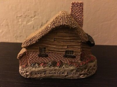 1982 DROVERS COTTAGE by DAVID WINTER House Hand Made Great Britain