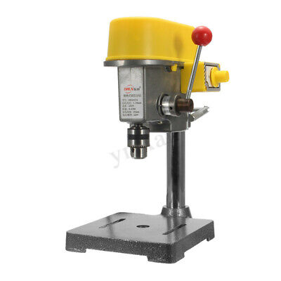 220V 450W Bench Drill Press Stand Workbench Repair Tool Drilling