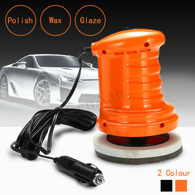 12V Car Polisher Buffer Waxer  Electric Orbital Motion Polishing