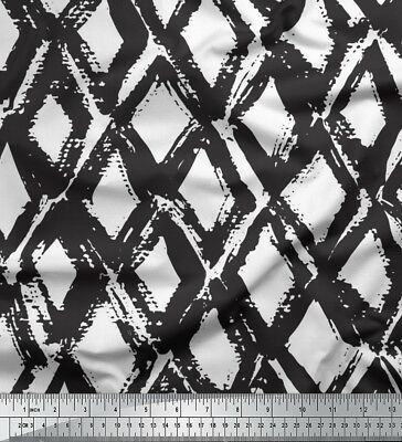 Soimoi Fabric Diamond /& Chevron Geometric Fabric Prints By Meter-GMD-534N